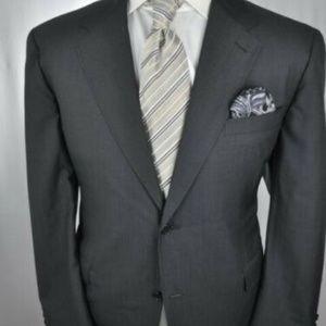 CANALI Super 140's Dark Gray Modern 2Btn Suit